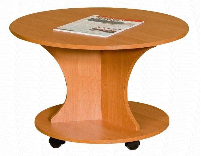 Журнальный стол круглый