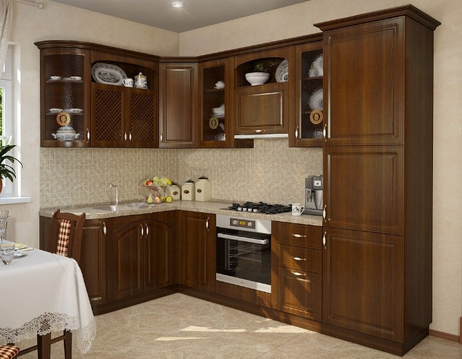Модульный кухонный гарнитур Юлия (5 цветов)