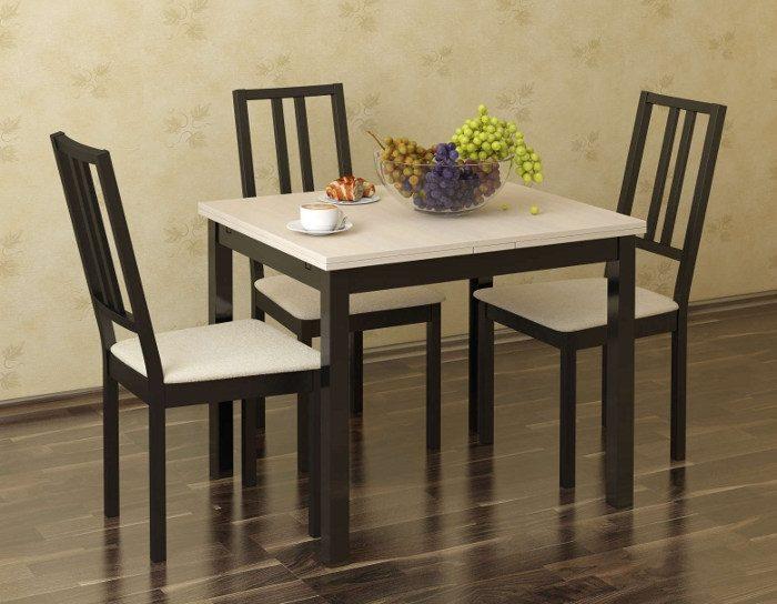 Стол обеденный раздвижной Аквилон