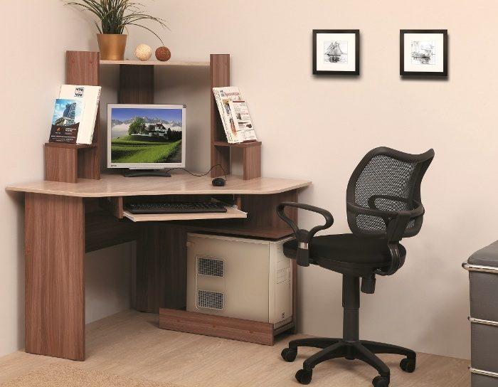Компьютерный стол ПКС-7 (2 цвета)