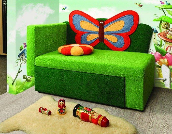 Диван-тахта детский Бабочка