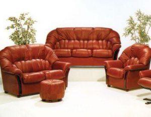 Как правильно ухаживать за кожаной мебелью