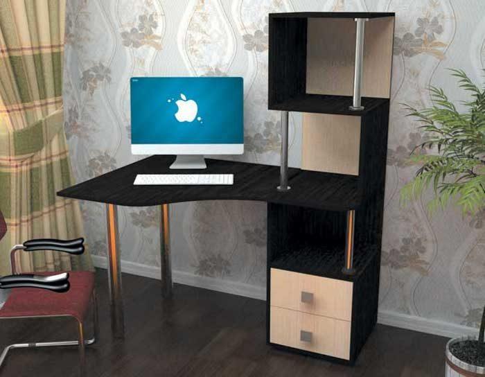 Компьютерный стол СК-10 (5 цветов)