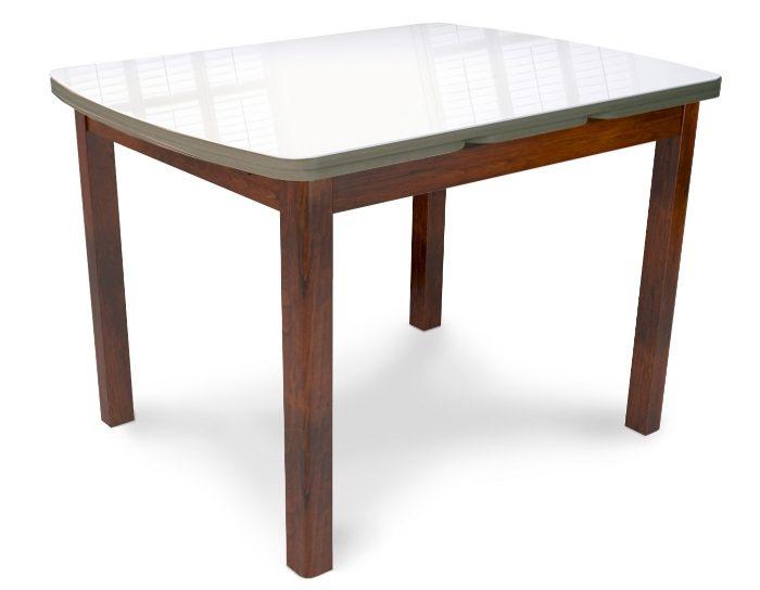 Стол стеклянный раскладной Орлеан 1700