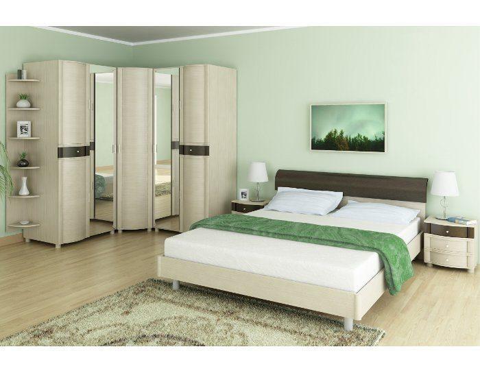 Модульная спальня Дольче Нотте дуб беленый