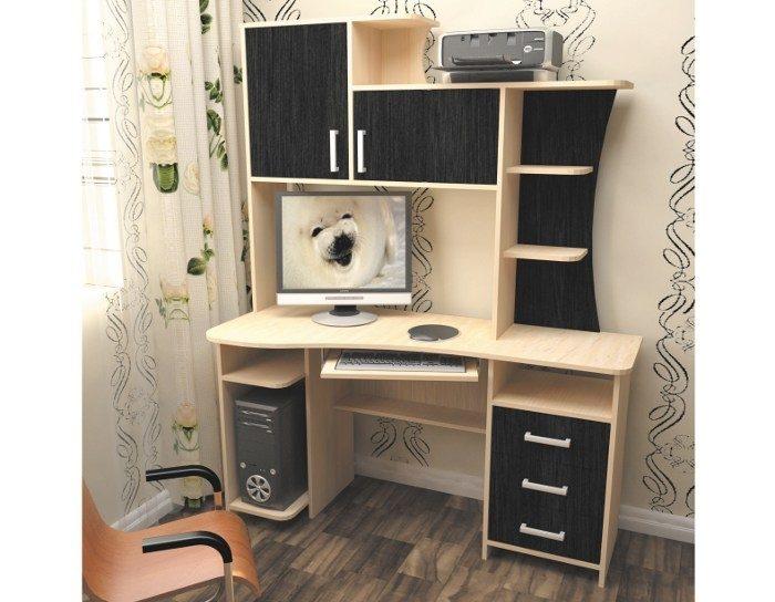 Компьютерный стол СК-19 (5 цветов)