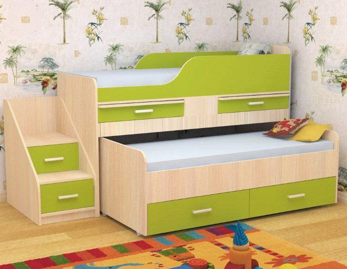 Детская кровать Лёсики
