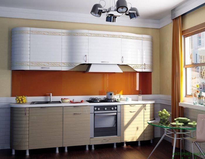 Кухня Анастасия тип 3 капучино