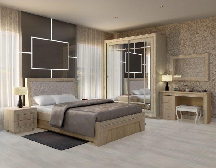 Спальня модульная Калипсо туя светлая