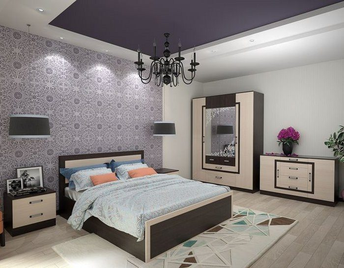 Модульная спальня Гармония ДСВ