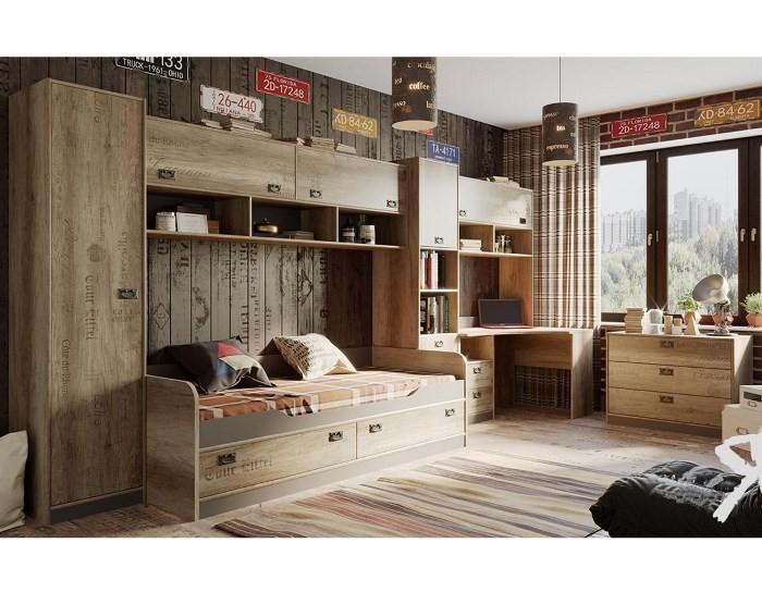 Модульная детская мебель Пилигрим