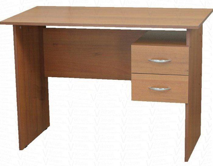 Письменный стол с двумя ящиками (5 цветов)