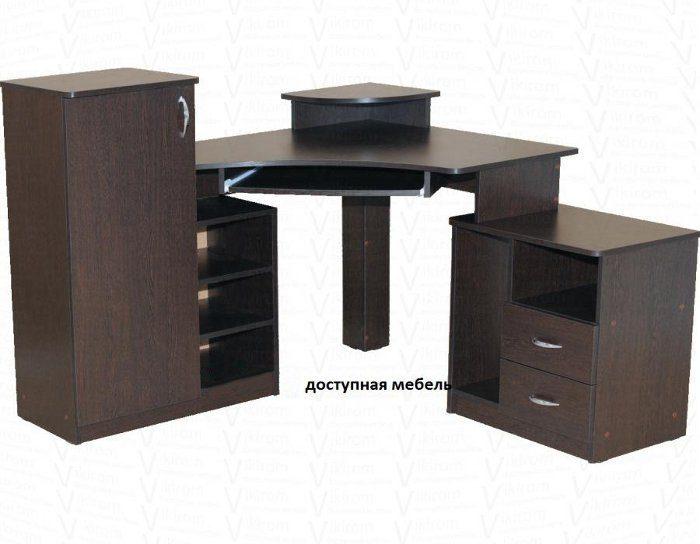 Компьютерный стол СКН 1 (5 цветов)