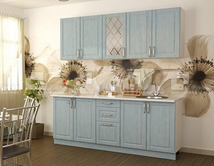 Модульный кухонный гарнитур Парма цвет бриз