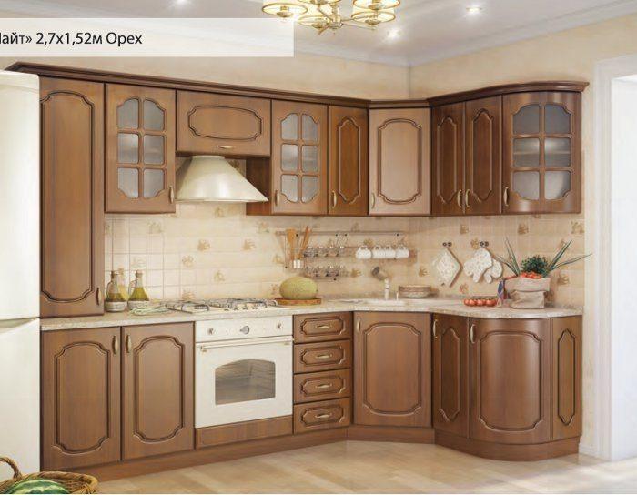 Модульный кухонный гарнитур Алиса (3 цвета)