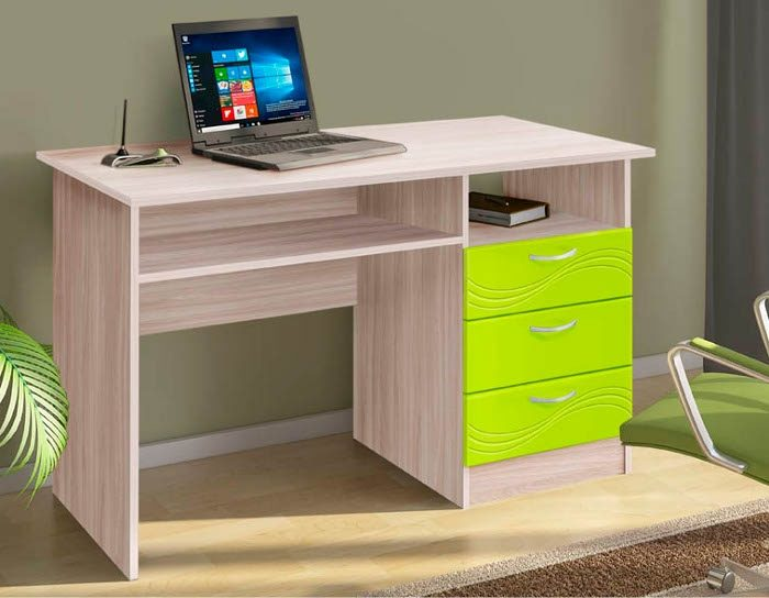 Стол письменный Бриз (3 цвета)