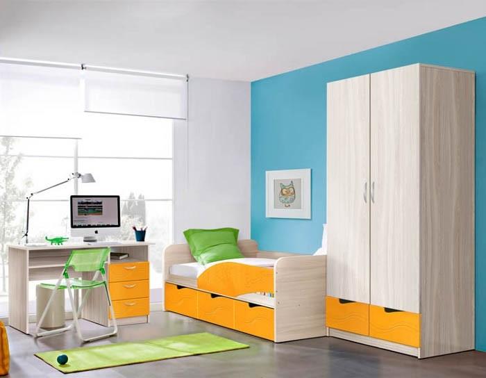 Модульная детская мебель Бриз
