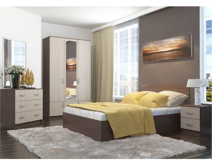 Модульная спальня Ронда ясень