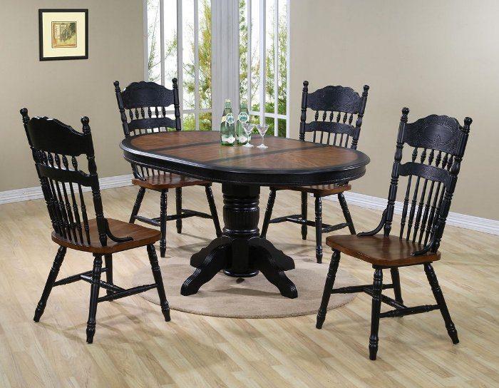 Обеденная группа стол 4260 NNDT STP(OB) со стулом 828 CCKD-S(OB)