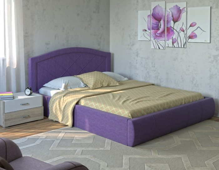 Кровать с подъемным механизмом Виго