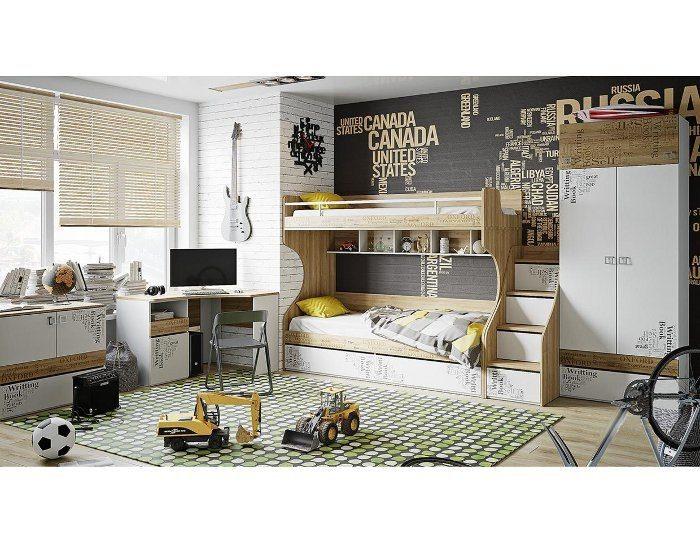 Модульная детская мебель Оксфорд