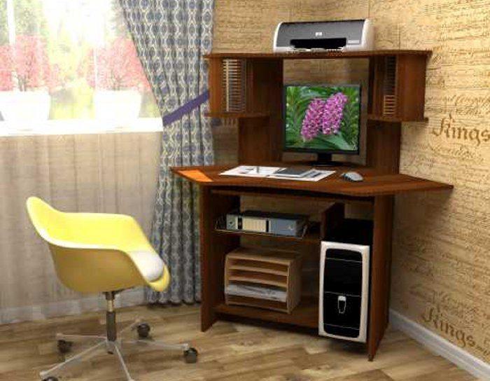 Компьютерный стол СК-12 (5 цветов)