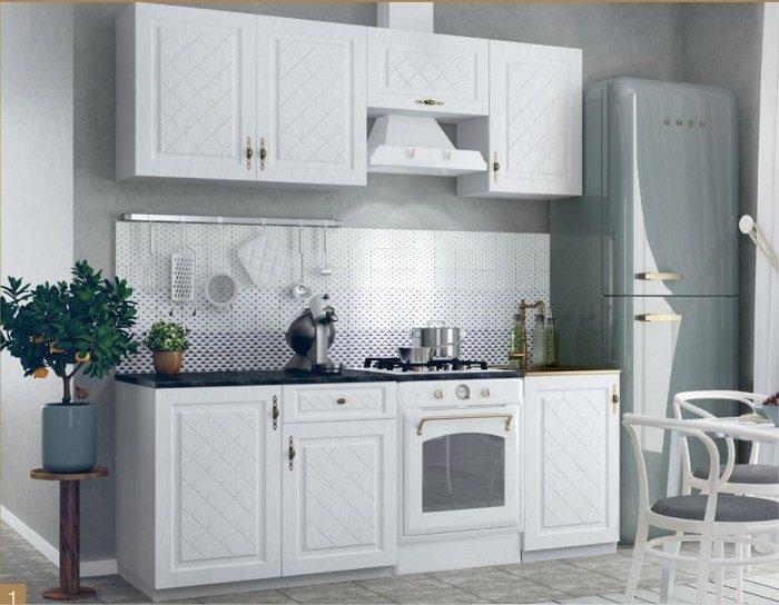 Кухонный гарнитур Гранд цвет белый