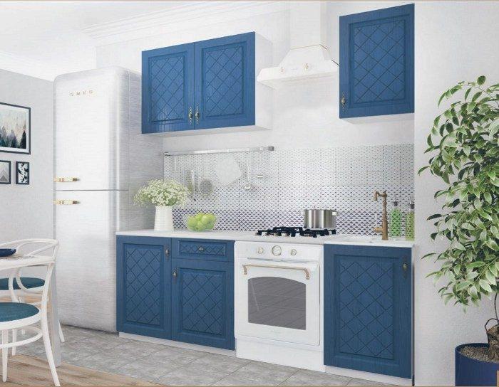 Кухонный гарнитур Гранд синий