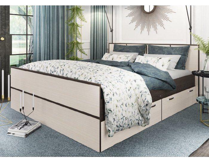 Кровать с ящиками Весна 1,75 метра