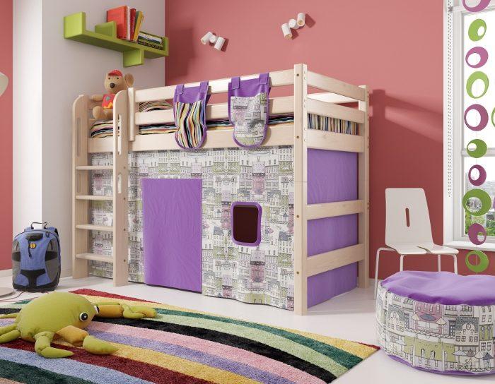 Детская деревянная кровать Соня 5