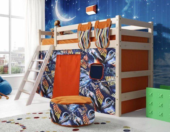 Детская деревянная кровать Соня 6