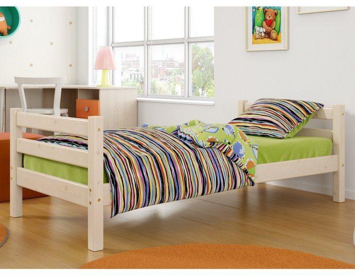 Детская деревянная кровать Соня 1
