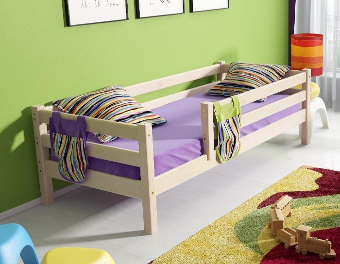 Детская деревянная кровать Соня 3