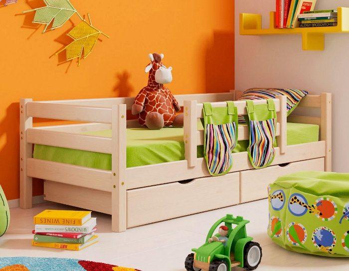 Детская деревянная кровать Соня 4
