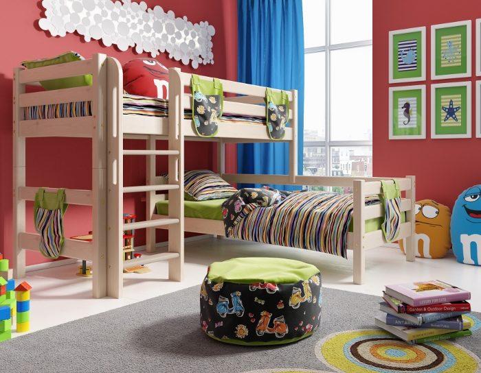 Детская деревянная кровать Соня 7
