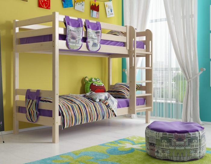 Детская деревянная кровать Соня 9