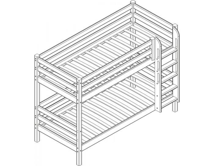 Детская деревянная кровать Авалон