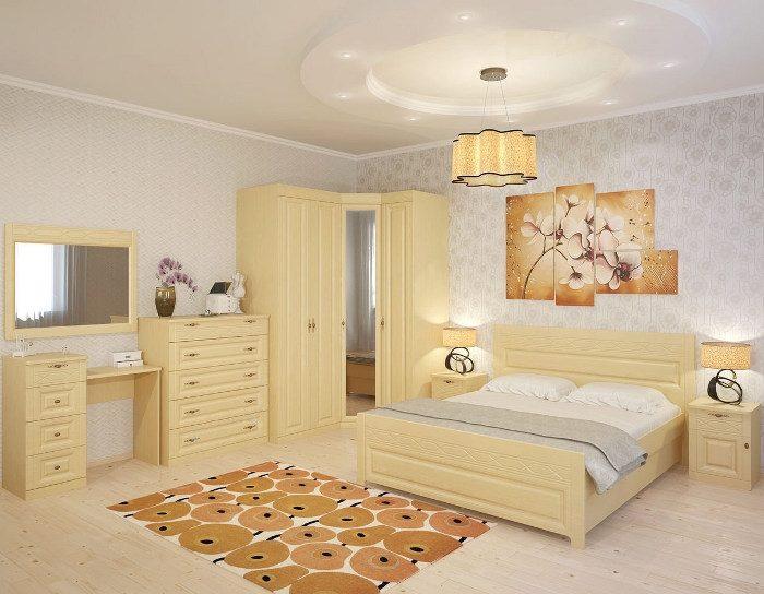 Модульная спальня Лолита