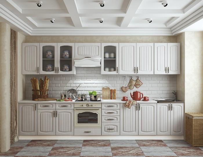 Кухонный гарнитур Гренада сандал