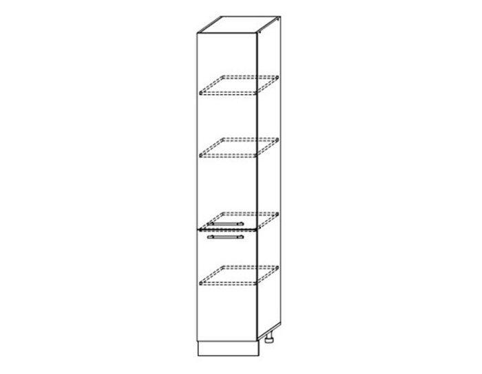 Кухонный шкаф-пенал Виста ШВП400