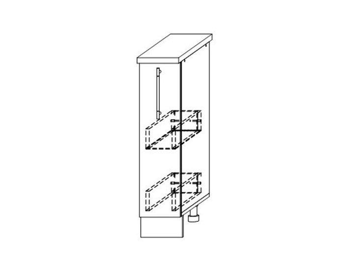 Кухонный шкаф Гренада ШНБ200 без столешницы