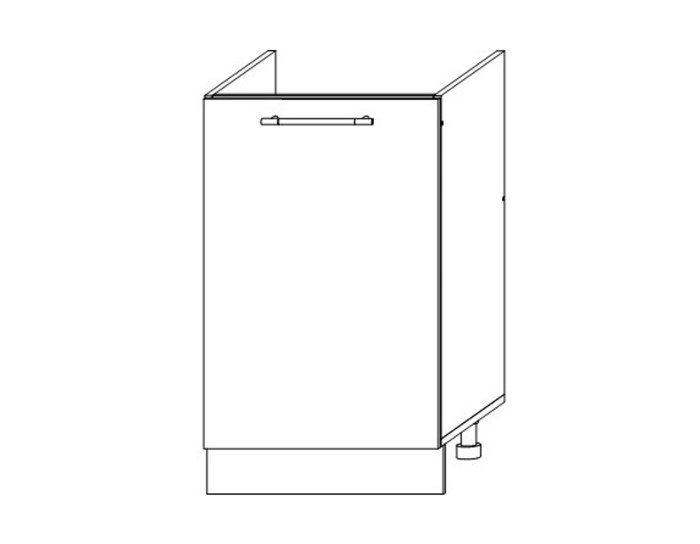 Кухонный шкаф Мокко ШНМ500 без столешницы