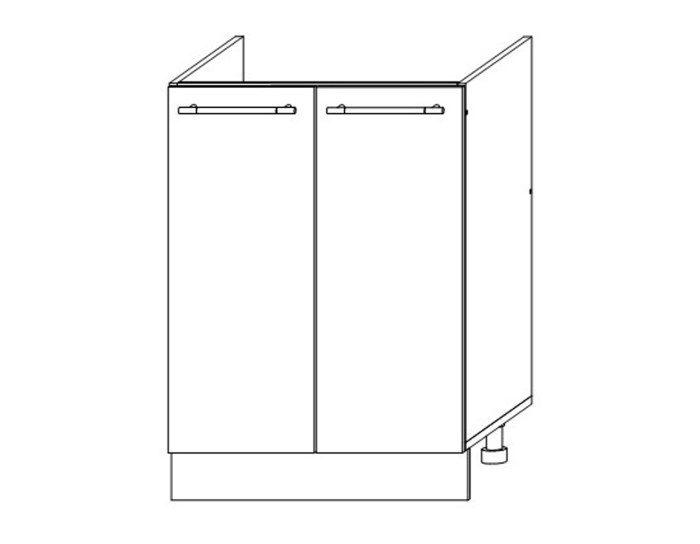 Кухонный шкаф Мокко ШНМ600 без столешницы
