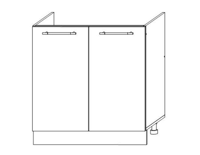 Кухонный шкаф Мокко ШНМ800 без столешницы