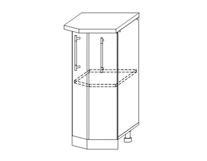Кухонный шкаф Мокко ШНТ360 универсальный без столешницы