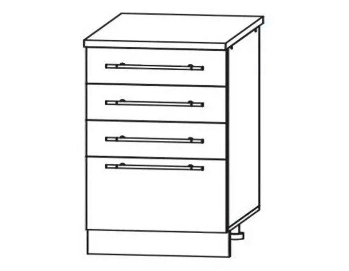 Кухонный шкаф Мокко ШНЯ500 без столешницы