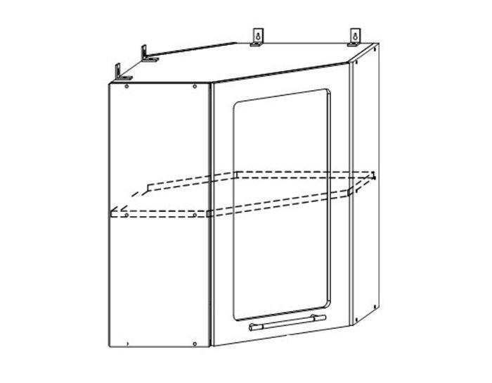 Кухонный шкаф Бруклин ШВУС600х600