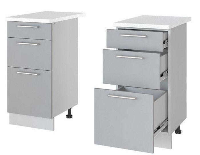 Кухонный шкаф Бронкс Н43