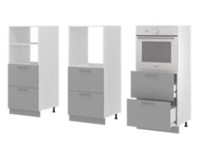 Кухонный пенал Бронкс П142ДС