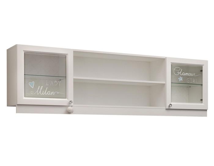 Детский шкаф навесной Гламур
